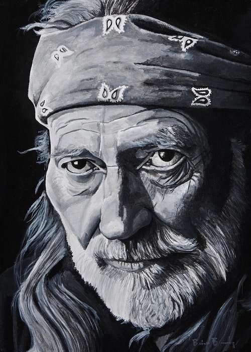 Willie Nelson Greeting Cards