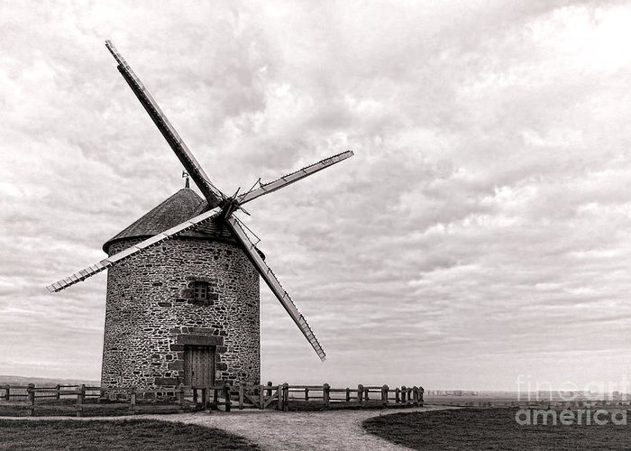 Grain Mill Greeting Cards
