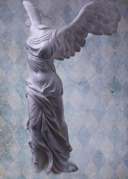 Winged Victory Greeting Card featuring the photograph Winged Victory by Garry Gay