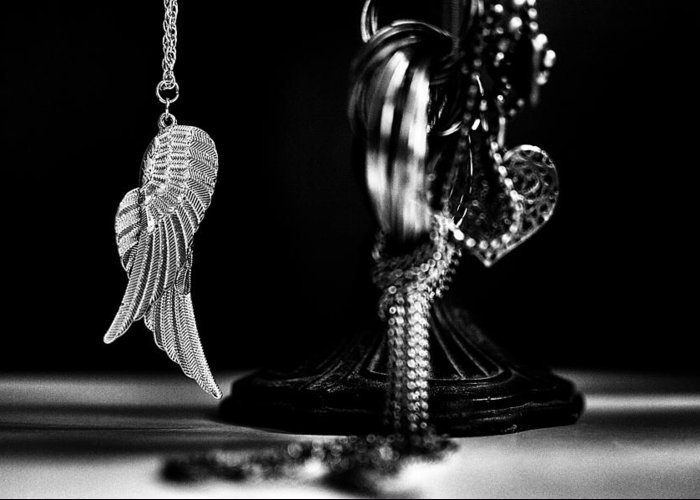 Wings Of Desire Greeting Card featuring the photograph Wings Of Desire II by Marco Oliveira