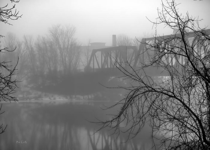 Landscape Greeting Card featuring the photograph Winter Fog by Bob Orsillo