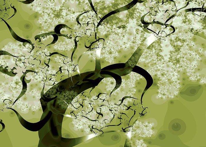 Malakhova Greeting Card featuring the digital art Wishing Tree by Anastasiya Malakhova