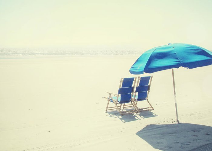 Beach Greeting Card featuring the photograph Wishing You Were Here by Amy Tyler