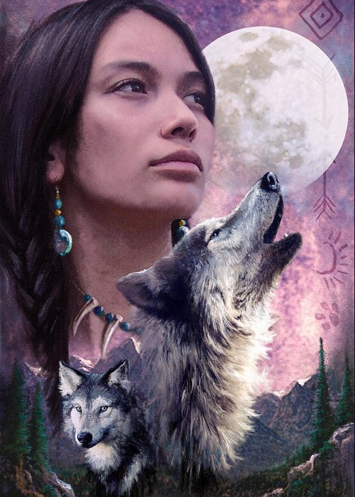 Adult Greeting Card featuring the photograph Wolf Montage by Garry Walton