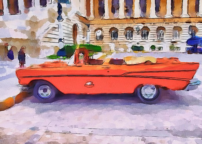 Car Greeting Card featuring the photograph Wonna Ride This Car by Yury Malkov