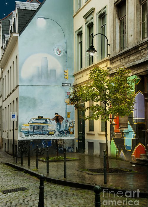 Rue Philippe De Champagne Greeting Cards