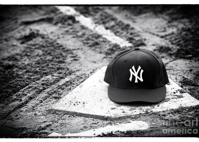 Yankee Home Greeting Card featuring the photograph Yankee Home by John Rizzuto