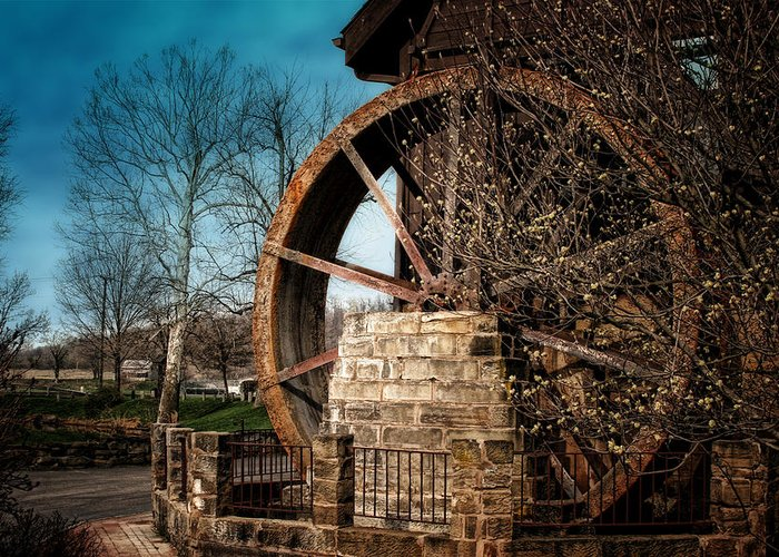 Ye Olde Mill Greeting Card featuring the photograph Ye Olde Mill by Tom Mc Nemar