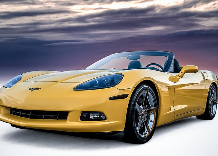 Chevy Corvette Greeting Cards