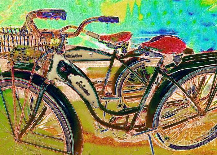 Transportation Greeting Card featuring the photograph Yesterday It Seemed Life Was So Wonderful 5d25760 M168 by Wingsdomain Art and Photography