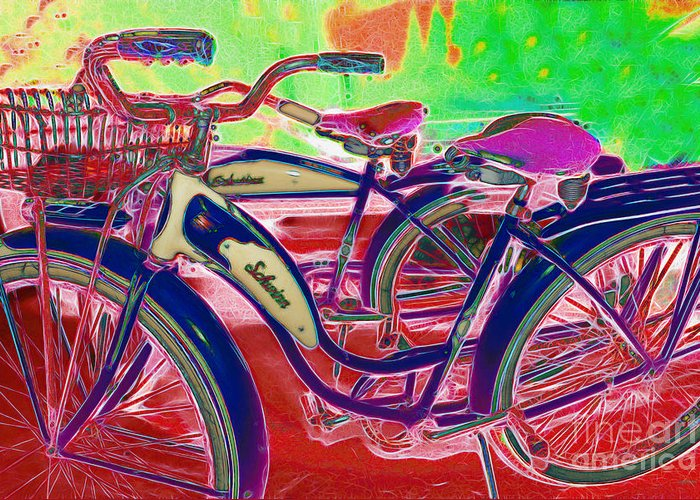 Transportation Greeting Card featuring the photograph Yesterday It Seemed Life Was So Wonderful 5d25760 P153 by Wingsdomain Art and Photography