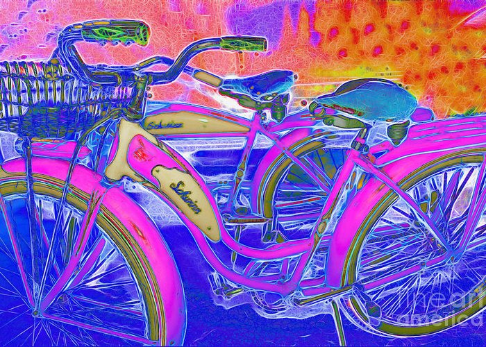 Transportation Greeting Card featuring the photograph Yesterday It Seemed Life Was So Wonderful 5d25760 P45 by Wingsdomain Art and Photography