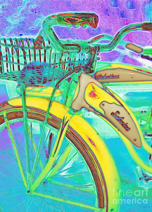 Transportation Greeting Card featuring the photograph Yesterday It Seemed Life Was So Wonderful 5d25760 Vertical M38 by Wingsdomain Art and Photography