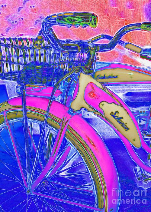 Transportation Greeting Card featuring the photograph Yesterday It Seemed Life Was So Wonderful 5d25760 Vertical P45 by Wingsdomain Art and Photography