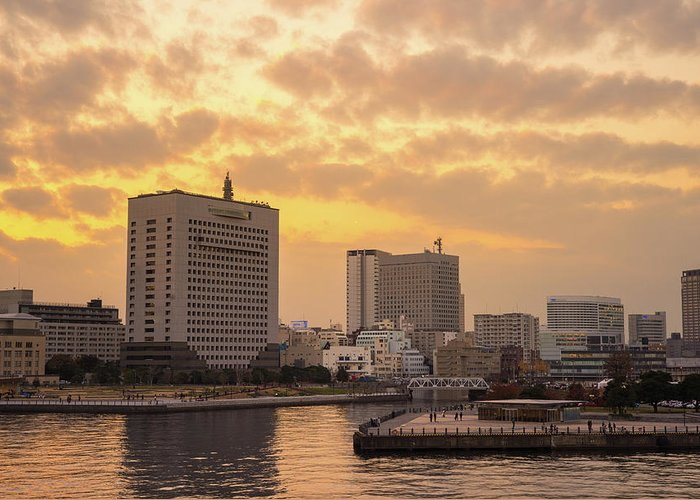 Tranquility Greeting Card featuring the photograph Yokohama by I Like Camera And Life