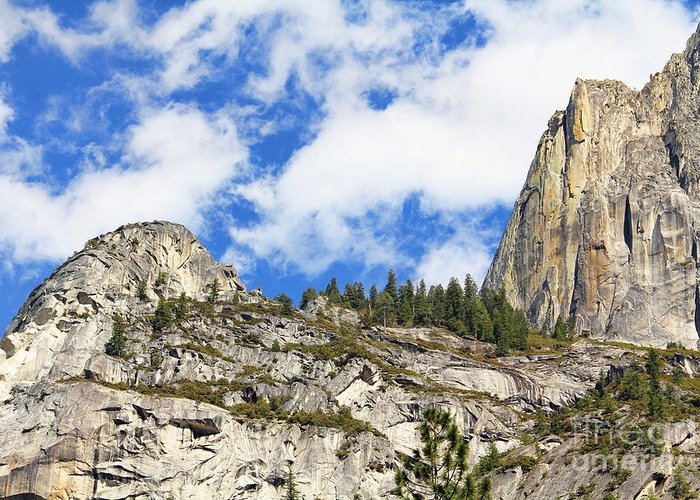 Yosemite National Park Greeting Card featuring the photograph Yosemite Granite by Jack Schultz