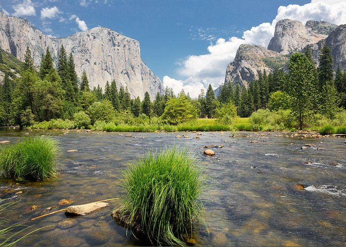 Yosemite National Park Greeting Card featuring the photograph Yosemite by Jerome Obille