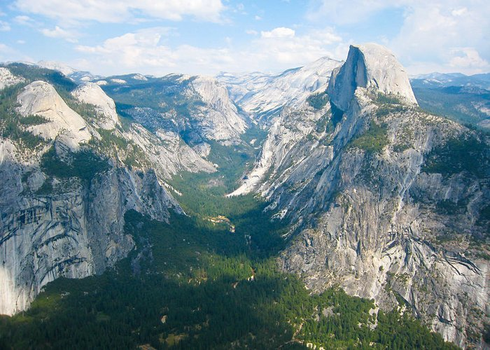 Yosemite Valley Greeting Card featuring the photograph Yosemite Summers by Heidi Smith