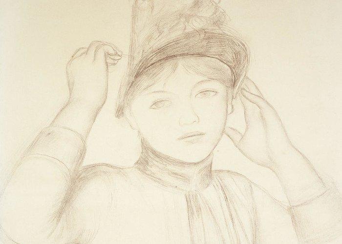Renoir Drawings Greeting Cards