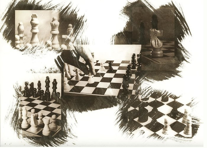 Chess Greeting Card featuring the photograph Your Move by Caitlyn Grasso