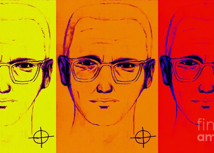 Zodiac Greeting Card featuring the photograph Zodiac Killer Three With Sign 20130213 by Wingsdomain Art and Photography