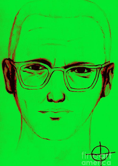 Zodiac Greeting Card featuring the photograph Zodiac Killer With Sign 20130213 by Wingsdomain Art and Photography