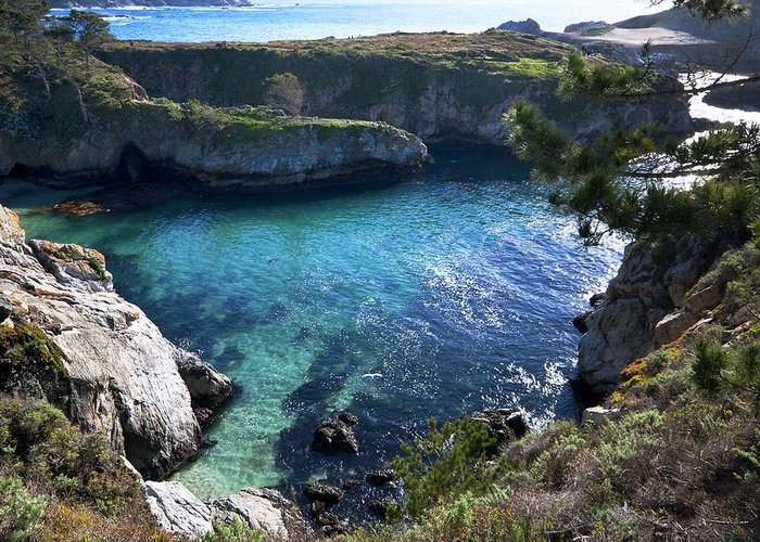 China Cove Greeting Card featuring the photograph China Cove by Mike Herdering