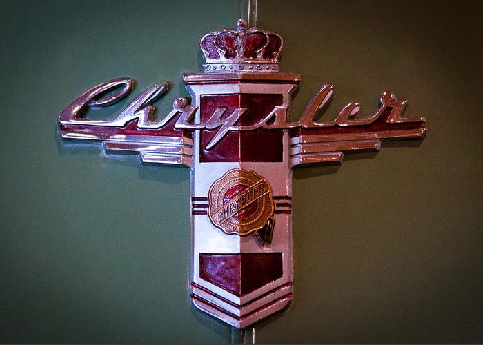 42 Greeting Card featuring the photograph 1942 Chrysler Royal Business Coupe by David Patterson