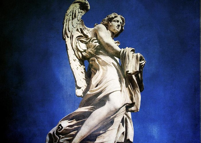 Angel Greeting Card featuring the photograph Angelo by Bernard Jaubert