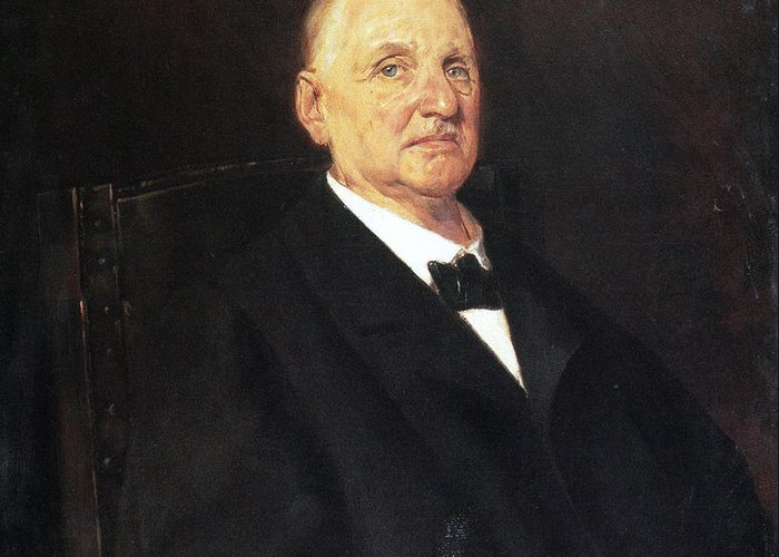1888 Greeting Card featuring the photograph Anton Bruckner (1824-1896) by Granger