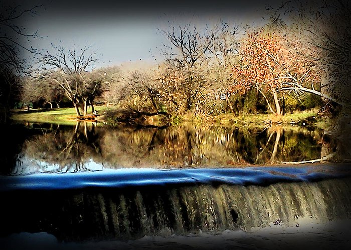 Brushy Creek Photo Greeting Card featuring the photograph Brushy Creek II by James Granberry