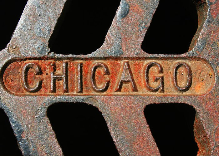 Chicago Greeting Card featuring the photograph Chicago by Eric Gordon