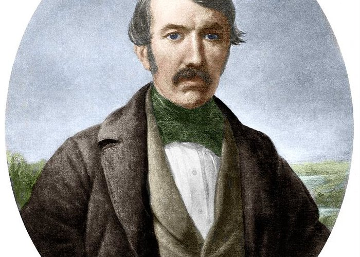 David Livingstone Greeting Card featuring the photograph David Livingstone, Scottish Explorer by Sheila Terry