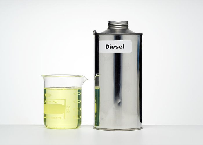 Diesel Greeting Card featuring the photograph Diesel by Paul Rapson
