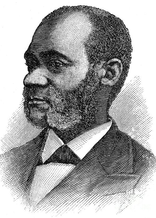 19th Century Greeting Card featuring the photograph Henry Highland Garnet by Granger