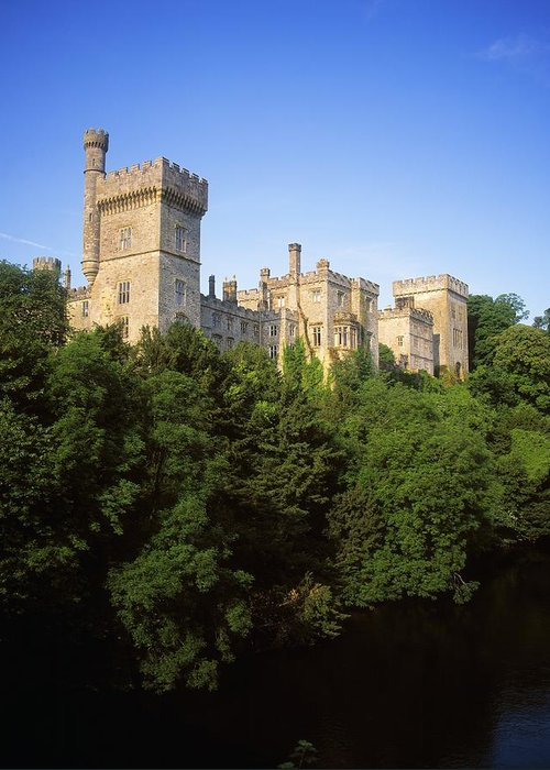 Archaeology Greeting Card featuring the photograph Lismore Castle, Co Waterford, Ireland by The Irish Image Collection