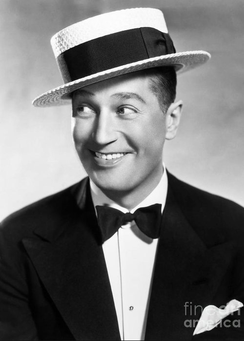 1930 Greeting Card featuring the photograph Maurice Chevalier by Granger