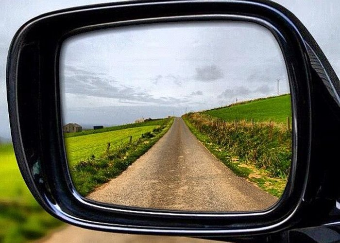 Greeting Card featuring the photograph Orkney's Road by Luisa Azzolini