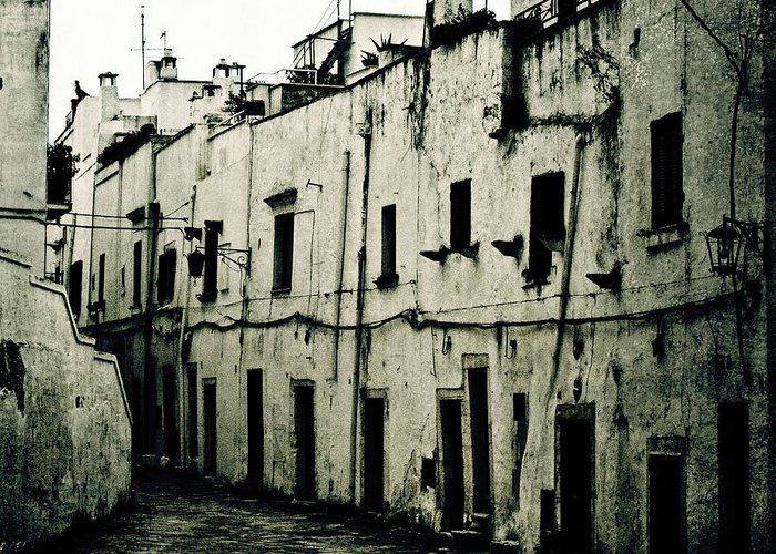 House Greeting Card featuring the photograph Ostuni - Apulia by Joana Kruse