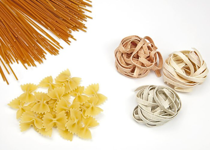 Pasta Greeting Card featuring the photograph Pasta by Joana Kruse