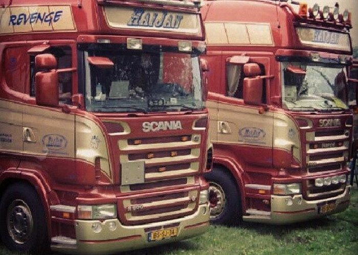Scania Truck Lkw Mega Trucks Greeting Card For Sale By Daniel Eder