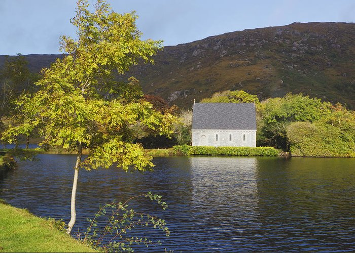 Gougane Barra Church Greeting Cards