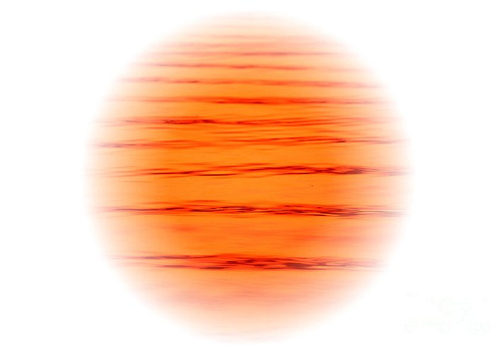 Art Greeting Card featuring the digital art Sun by Odon Czintos