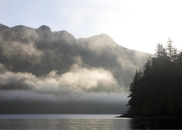 Queen Charlotte Islands Greeting Card featuring the photograph Sunrise In Haida Gwaii by Taylor S. Kennedy
