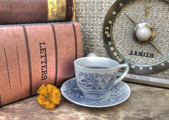 Tea Greeting Card featuring the photograph Tea Time by Jane Linders