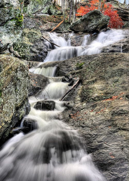 Cunningham Falls Greeting Card featuring the photograph The Falls by JC Findley