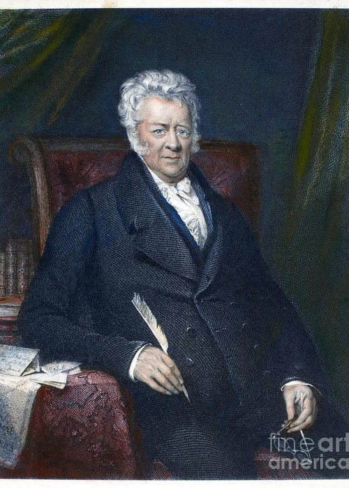 19th Century Greeting Card featuring the photograph Thomas Clarkson (1760-1846) by Granger