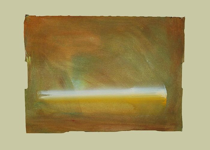Tsunami Greeting Card featuring the painting Turner Tide by Charles Stuart