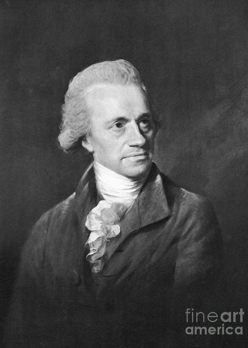Science Greeting Card featuring the photograph William Herschel, German-british by Science Source