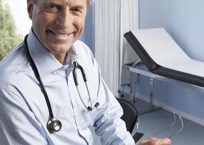 Medical Equipment Greeting Card featuring the photograph General Practitioner by Adam Gault
